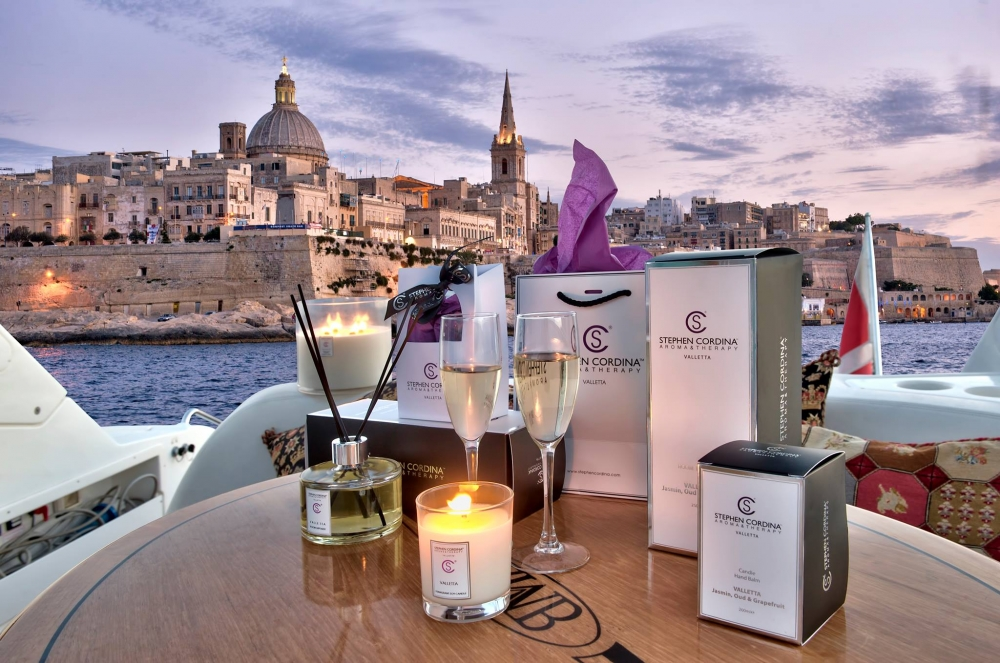 Maltese master aromatherapist has captured the essence of Valletta ... and Christmas