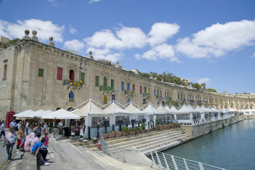 Bring some colour into your life this Spring at Colour Fest, Valletta Waterfront