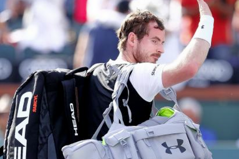 Andy Murray crashes out of the BNP Paribas Open at Indian Wells after shock defeat to Federico Delbonis