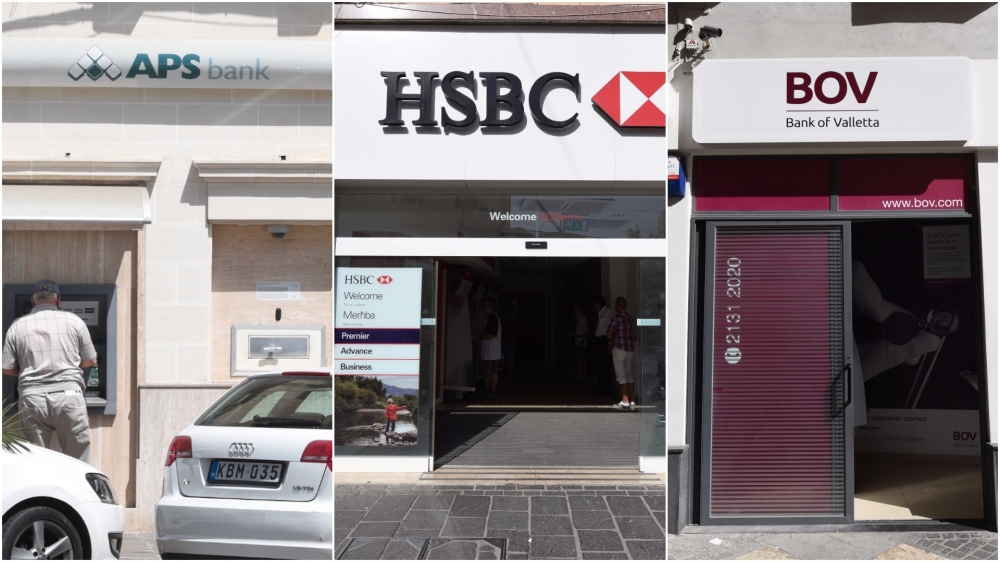 Malta's major banks notch up €21.3 billion in total assets