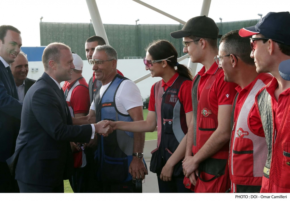 Joseph Muscat's sporty ambition: Malta should aim for international success