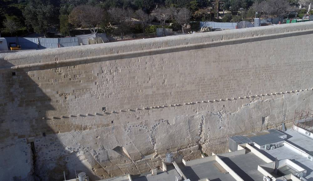 [WATCH] Aerial shots of Floriana fortifications, now restored back to their glory