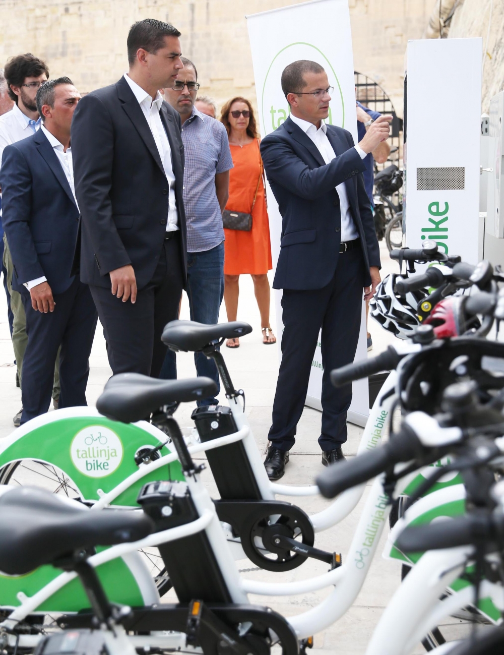E-bike sharing service around Valletta launched