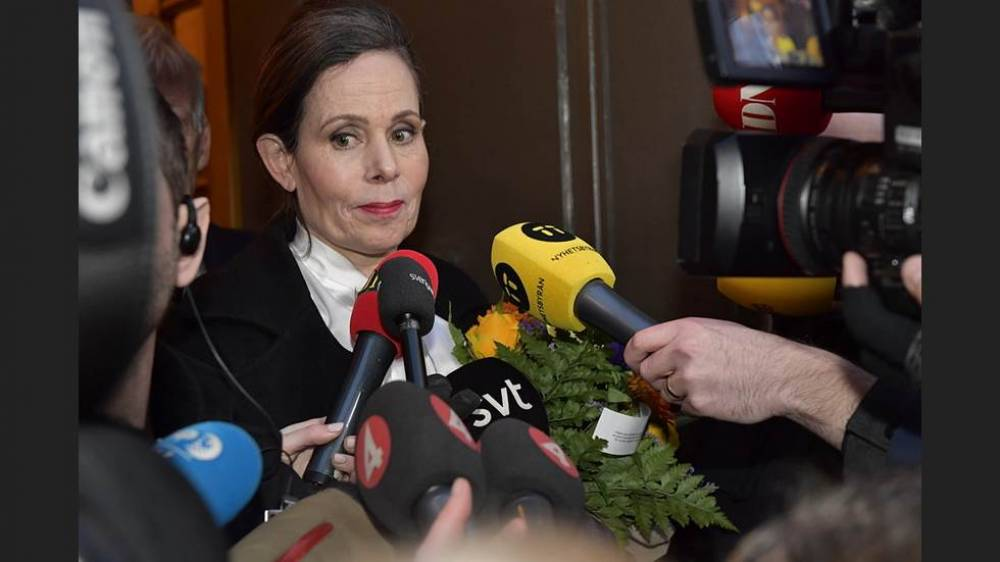 Swedish Academy head quits Nobel body amid sexual misconduct scandal