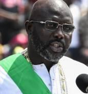 George Weah sworn in as president of Liberia