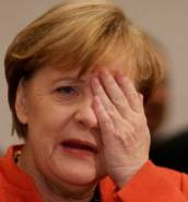 Angela Merkel: hints at fresh elections over ruling minority government