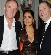 Harvey Weinstein: Salma Hayek claims he threatened to kill her