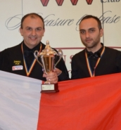 Alex Borg and Duncan Bezzina to represent Malta in the Snooker World Cup