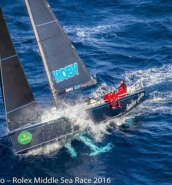 Mascalzone Latino is the overall winner of the Rolex Middle Sea Race