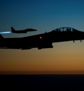US-led strikes on ISIS-run Syrian prison leaves dozens dead