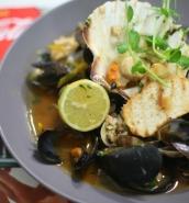 Mediterranean seafood stew