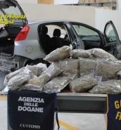 Italian police find 13kg of marijuana in Malta-bound car