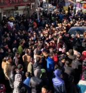 [WATCH] Beijing: hundreds protest over migrant crackdown