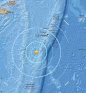 Two powerful earthquakes strike just off coast of holiday island Fiji