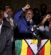 [WATCH] Zimbabwe: Emmerson Mnangagwa sworn in as new president