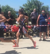 Hannah Pace wins third race of 2017 Sicily Triathlon Series
