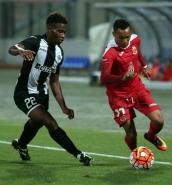 Hibernians win against ten men Valletta