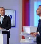 No love lost between leaders during tense broadcast debate