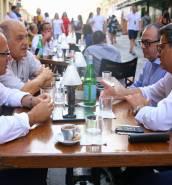PN leadership contestants meet over coffee