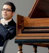 Mahan Esfahani in concert with Valletta International Baroque Ensemble