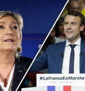 Macron campaign for French presidency off to slower start than Le Pen, polls show