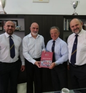 IFBB President Rafael Santonja meets the Maltese National Olympic Committee