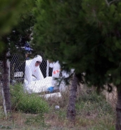 [IN PICTURES] Wreckage of plane crash that killed five Frenchmen