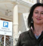 International press leads with Daphne Caruana Galizia murder