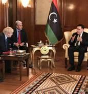Boris Johnson expected in Malta after Tripoli visit