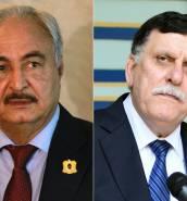 Paris hosts Libyan rival leaders in landmark meeting