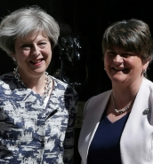Tories and the DUP strike £1 billion deal to prop up minority government