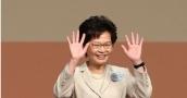 China-backed Lam elected Hong Kong's first female leader