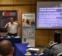 Daikin ALIVE2015 challenge members learn about current research in cancer