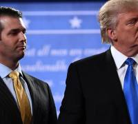 Secret Twitter correspondence between Donald Trump Jr and Wikileaks released