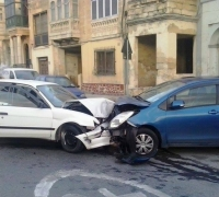 Cars do not just crash head-on for no reason