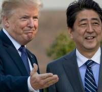 North Korea: US-Japan weapons deals will help counter threat, says Trump