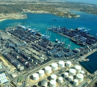 Intensive clean-up operation under way at Freeport following oil spill
