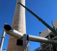 Dismantling of Delimara chimney and HFO boilers underway