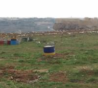 Pyrotechnic debris still littering Gelmus hill in Gozo