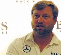 Hugo Boss sailing with Alex Thomson at the Rolex Middlesea Race in Malta