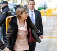 Catalonia crisis: Ex-parliament speaker Forcadell freed on bail