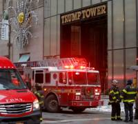 [WATCH] Two injured in Trump Tower fire