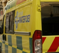 Woman grievously injured in traffic collision