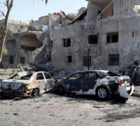 Suicide car bomb chase in Damascus kills at least 19