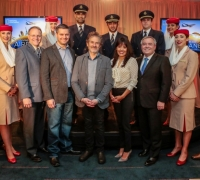 In-flight premiere of Nat-Geo's 'Living in the Age of Airplanes' onboard A380