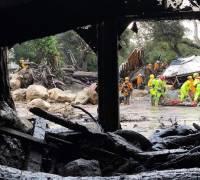 At least 13 people dead in California mudslide