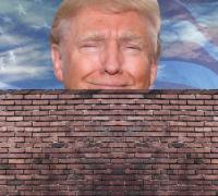 The Great Wall of… TRUMP!   Calamatta Cuschieri
