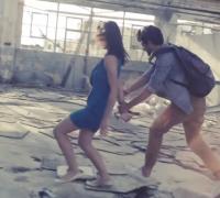 Asbestos alert in Winter Moods music video
