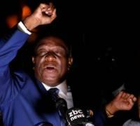 [WATCH] Zimbabwe: former vice president Mnangagwa hails a 'new democracy'