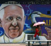 Pope Francis visits Colombia hoping to encourage peace